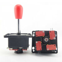 2pcs Arcade Game 4-8 Way Spanish Competition Joystick For JAMMA MAME Cabinet