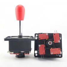 2pcs of Arcade game 4-8 way Spanish competition joystick JAMMA MAME cabinet -Red
