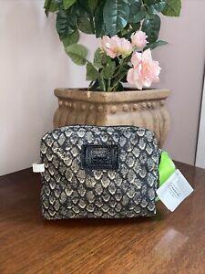 Coach Packable Bag Resort Snake Gray Nylon Folding Bag Tote F66596  B3G