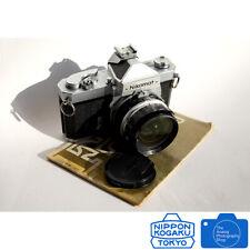 Nikon NIKOMAT  FTN Chrome + Nikkor 28mm F3.5 Lens