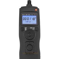 Temporizador disparador de cable de control remoto para Olympus E3 E1 E300 E10 E20 C7070 RM-CB1