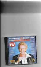 "PORTER WAGONER, CD ""18 GREATEST GOSPEL"" HEARTWARMING GOSPEL, NEW SEALED"