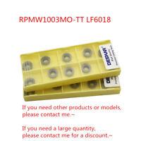 10Pcs DESKAR RPMW1003MO-TT LF6018 R5 CNC Round Carbide inserts Replace Duracarb