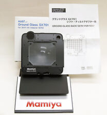 Mamiya RZ Ground Glass Adaptateur BACK sx701 for Shift Tilt adaptateur ni701