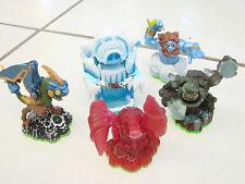 Skylanders Spyro's Adventure lot - 5 Drobot Emperior of the Ice Cave Prism Break