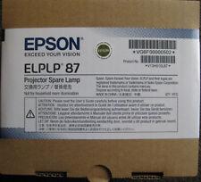 EPSON ELPLP 87 GENUINE/ORIGINAL PROJECTOR LAMP/GLOBE/BULB+HOUSING+V13H010L87
