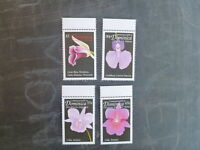 1999 DOMINICA ORCHIDS OF THE CARIBBEAN BASIN SET 4 MINT STAMPS MNH
