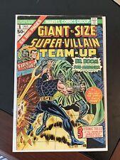 Giant-Size Super-Villain Team-Up 1. 4.5 VG+. Strict Grading. (MC)