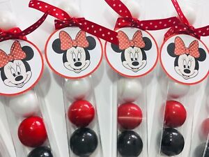 Disney Minnie Mouse - Polka Dot - Birthday Party Favor- Gumball Candy