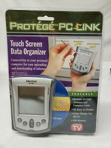 New Protege PC Link NIP Touch Screen Data Organizer 32K Memory new sealed