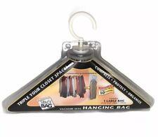 Original Space Bag Storing Packs Vacuum Seal Hanging Bags Compress 10 Garments