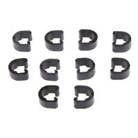 10Pcs Bike Bicycle Cycling MTB C-Clip Buckle Hose Brake Gear Cable