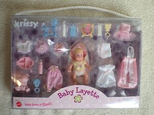 Rare Barbie KRISSY Baby Layette NRFB MIB Excellent 1999