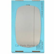 Right Driver side Wide Angle Wing door mirror glass for Fiat Doblo 2001-2010