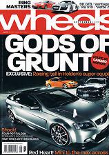 Wheels Sep 09 Coupe 60 Monaro S4 335i Aston Martin V12 Vantage R8 Corvette 911
