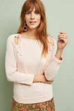 NWT Anthropologie Siobhan Pullover Pink Sweater Size XS