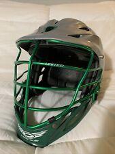 Cascade Model R Lacrosse Helmet | Grey W/Green Mask - Light Wear