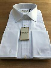 Thomas Pink 100's Cotton Shirt, UK:17.5, EU:44, BNWT, WHITE, RRP:£115!