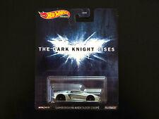Hot Wheels 2020 Premium The Dark Knight Rises Lamborghini Aventador Loose MINT