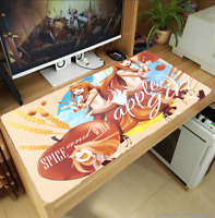 40x70CM Spice And Wolf Holo Raphtalia Mouse Pad Mat Playmat Keyboard Game Mat