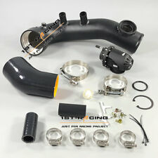 High Flow Intake Turbo Pipe +BOV SSQV BK Cooling Kit For BMW N54 135i 335i 225KW
