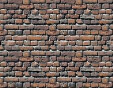 @ 8 Sheets Embossed Bumpy Brick stone wall 21x28cm Scale 1/12 Code 401Sv77