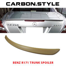 Unpainted For Mercedes Benz SLK R171 Convertible AMG Type Trunk Boot Spoiler