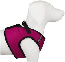 Worthy Dog Sidekick Harness Polyester Size XXS Raspberry