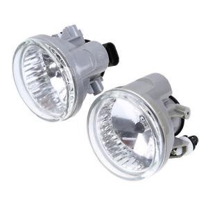 Pair Front Bumper Fog Light Lamp w/Bulb for Toyota Prius 2004 2005 2006-2009
