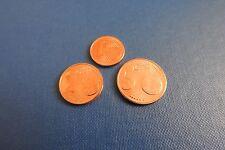 Les 3 pieces neuves de 1c 2c et 5 c Finlande 2008
