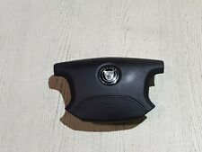 JAGUAR XJ X350 BLACK STEERING WHEEL AIR BAG DRIVER