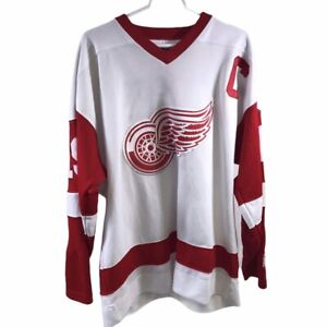 Detroit Red Wings Starter NHL White Jersey Size L
