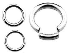 "Nipple Ring Segment Captive Bead  Pair 10 gauge 1/2"""" - Sold as a pair"""