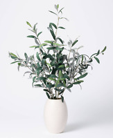 "Studio McGee 30""x24"" Artificial Olive Plant Arrangement in Pot Target Threshold"