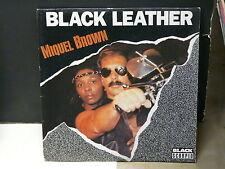 MIQUEL BROWN Black leather CB111 SCM 1249