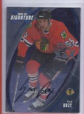 2002-03 BAP SIGNATURE SERIES ERIC DAZE AUTOGRAPH FALL EXPO 3/5 062 BLACKHAWKS