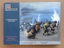 PEGASUS 1/72 WW II U.S. Rangers D-Day June 6 1944  Figures # 7351  BRAND NEW