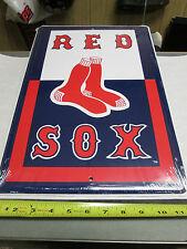 Boston Red Sox  metal tin sign