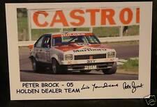 PETER BROCK signed Print