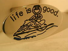hitch cover,life is good jet skier,h2, tahoe,expedition supercrew,JET SKIER BOY