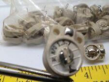 Vintage Erie Resistor (50) NPO 1.5.7 CV11A070 Trimmer Capacitor Ceramic RF tube