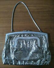 Vintage Glomesh Australia Silver Mesh Evening Bag and Purse