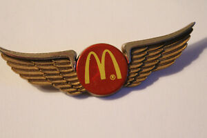 Jr. Wings:  McDONALD'S.  Winged logo.  Plastic.  Excellent.