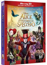 Alice à travers le Miroir (Blu Ray 3D+2D ) avec Johnny Depp, Mia Wasikowska