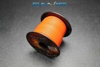 16 GAUGE WIRE ENNIS ELECTRONICS 100 FT ORANGE SPOOL STRANDED AWG COPPER CLAD