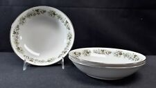 Royal Doulton English Translucent China Vanity Fair TC1043 Set of 3 Cereal Bowls