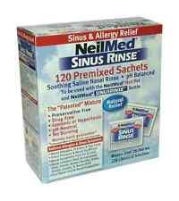NeilMed Sinus Rinse Refill Pack (120 Sachets) Isotonic