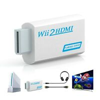 For Wii to HDMI 720P 1080P HD Video Audio Converter Adapter Upscaling Nintendo