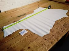 White Patent Calf Side Remnant Leather 1.2mm Thick Quality Genuine EB102