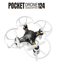 FQ777-124 Pocket Drone 4CH 6Axis Gyro Quadcopter With Controller RTF - RC Addict
